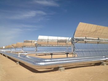 Genesis concentrating solar power project