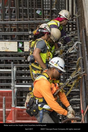 Vogtle Units 3 & 4 construction photo