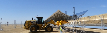 Genesis concentrating solar power plant