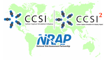 The selected projects are the National Risk Assessment Partnership (NRAP) and the Carbon Capture Stimulation Initiative (CCSI) along with its second phase, Carbon Capture Simulation for Industry Impact (CCSI2)