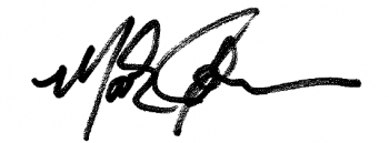 Mark Johnson's Signature
