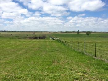 Seismic station in Oklahoma field