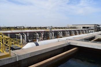 View of Israel's Sorek Desalination Plant
