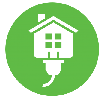 Green circle Energy Saver logo