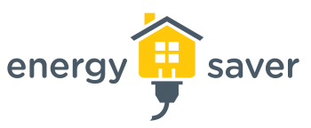 Yellow spring and summer Energy Saver logo