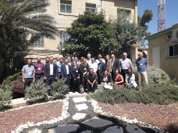 The workshop included competing teams, expert judges, and industry partners from the U.S. and Israel