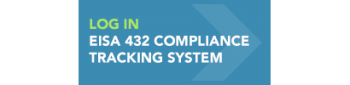 Button that reads Log In EISA 432 Compliance Tracking System.
