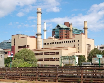 Local power plant near MIT