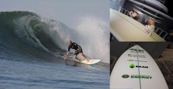 algae surfboard photo blog