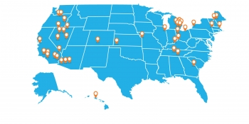 LPO portfolio projects map