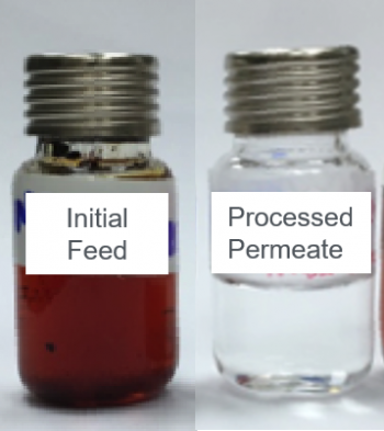 aqueous bio-oil solution