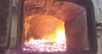Boiler at the Piedmont Geriatric Hospital
