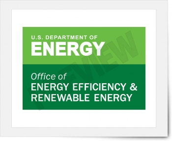 The Office of Energy Efficiency and Renewable Energy identifier.