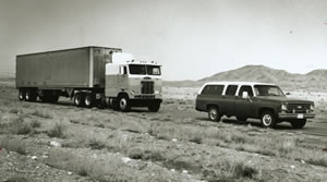 Vehicles formerly used by OST