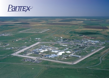 The Pantex Plant near Amarillo, Texas.