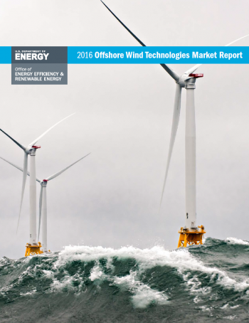 Cover of the 2016 Offshore Wind Market Report