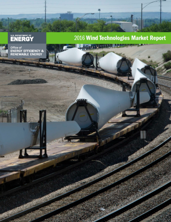 The Wind Technologies Market Report cover.