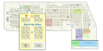 map of sunshot booth location at solar power international spi