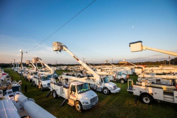 Restoration crews from across the nation traveled to Florida to assist with the unprecedented response to Hurricane Irma.