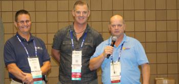 Figure 2. Gordon Denman, RJ Debevec, and Rocky Simmons share the MSA experience