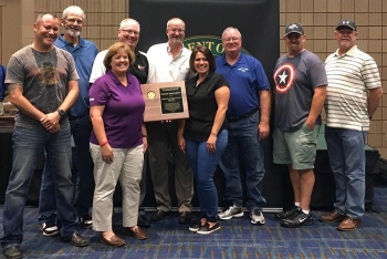 CH2M HILL Plateau Remediation Company Employees received the Voluntary Protection Program Star of Excellence award at the 2017 Safety+ Symposium. CH2M's goal is to set the gold standard for safe, compliant cleanup at the Hanford Site.