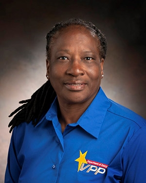 Loretta Williams of Savannah River Nuclear Solutions.