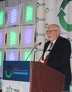 Dick Doss, member of the Carlsbad Council and Energy Communities Alliance.