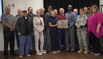 MSA's Safeguards & Security team received the VPP Star of Excellence award. At MSA, the number of reported incidents over the last 3 years correlates with a decrease in recordable injury rates, demonstrating that increased reporting helps reduce injuries.