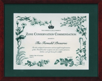 The Garden Club of America  Zone Conservation Commendation.