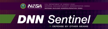 NNSA's Defense Nuclear Nonproliferation newsletter DNN Sentinel flag