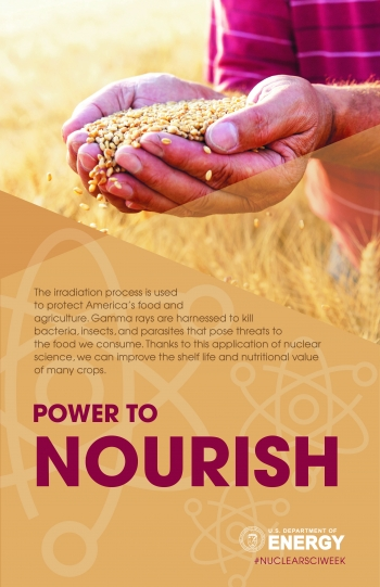 Nuclear science has the power to nourish: The irradiation process is used to protect America's food and agriculture.