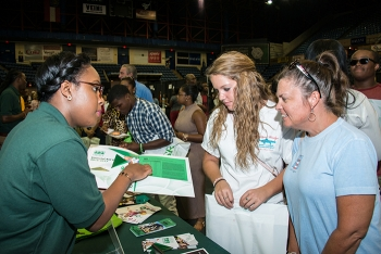 Many students view the event as a means to limit costly college visits and obtain scholarships.