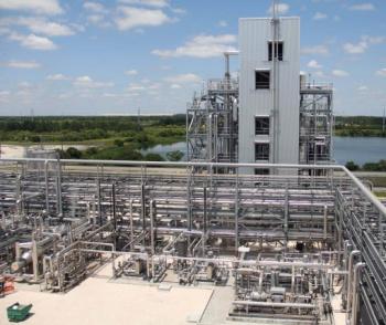 RTI's Warm Gas Desulfurization Process 50MW syngas unit at TECO's Polk 1 IGCC power station