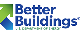 Graphic of the Better Buildings logo.