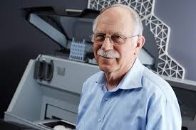Photo of Chuck Hull, the father of 3D printing.
