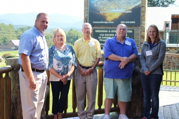New ORSSAB members (Pictured L-R) Leon Shields, Bonnie Shoemaker, John Tapp, David Branch, and Tara Walker attended the board's annual planning meeting in August 2017. New member Michelle Lohmann was unable to attend.