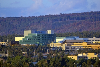 Photo of LANL's buildings