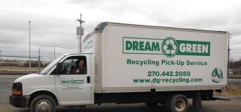 Dream Green Recycling, a woman-owned small business, provides recycling services to the Paducah Site.