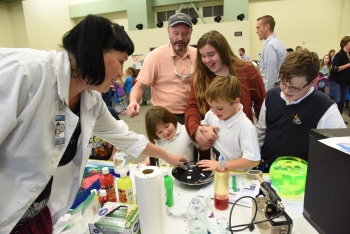 Family Nuclear Science Night at INL
