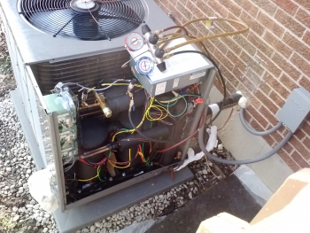 How a cold climate heat pump operates