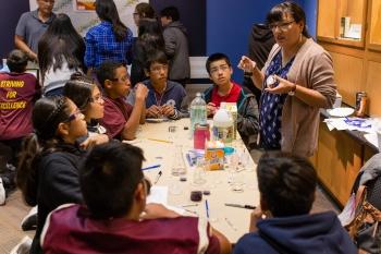 Los Alamos STEM Mentoring Cafe - 2017