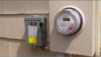 solar home inverter and shutoff meter