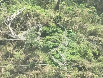 downed power lines in puerto rico