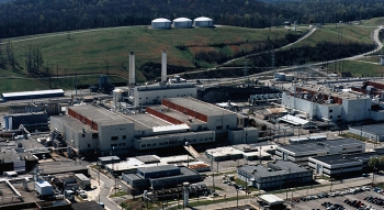 When operational, the Mercury Treatment Facility will enable cleanup of facilities such as Alpha-4 and Alpha-5, pictured here.