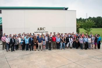 Savannah River National Laboratory 2017 interns and mentors.