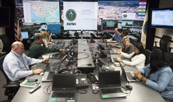 In case of emergency, the NNSA/DOE Emergency Operations Center is staffed around the clock.