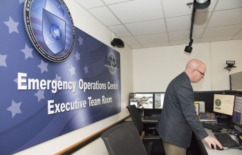 NNSA/DOE personnel monitor events 24/7 from the Emergency Operations Center