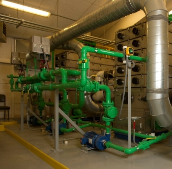 The pump-and-treat system at Test Area North has treated nearly 700 million gallons of water.