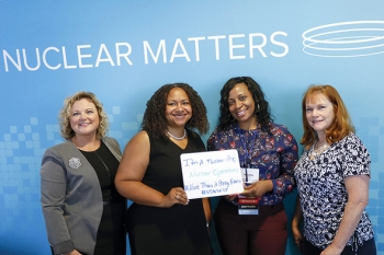 Savannah River Site Women in Nuclear (WIN) members attend the U.S. WIN 2017 National Conference in San Francisco.