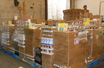 West Valley Demonstration Project volunteers collected more than 100,000 pounds to donate to nine local food pantries just in time for the holidays.